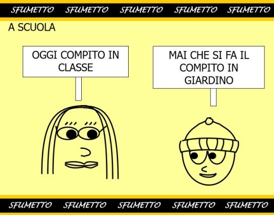 Eccezionale barzellette sulla scuola divertenti - 8 - Barzellette vignette e  CO09