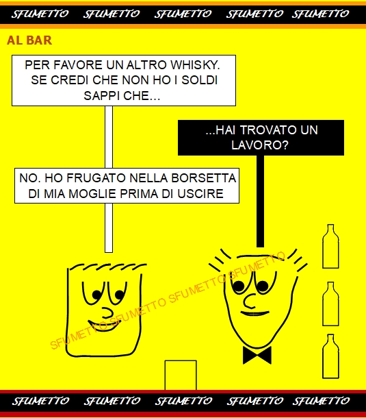 al Bar per un altro whisky
