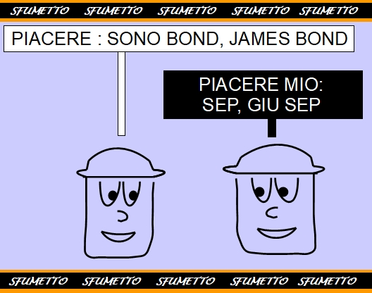 BATTUTA SUI FILM DI JAMES BOND