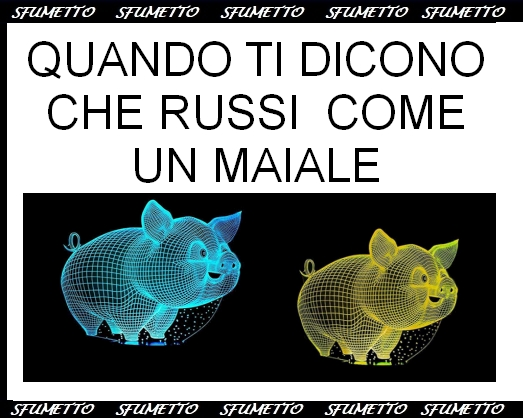 idea regalo luce 3D maiale